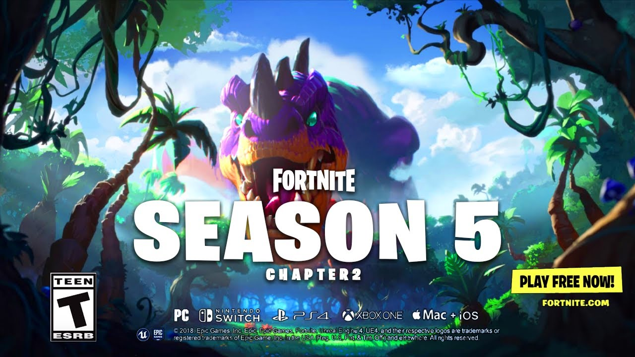 Fortnite Season 5 Chapter 2 Release Date
