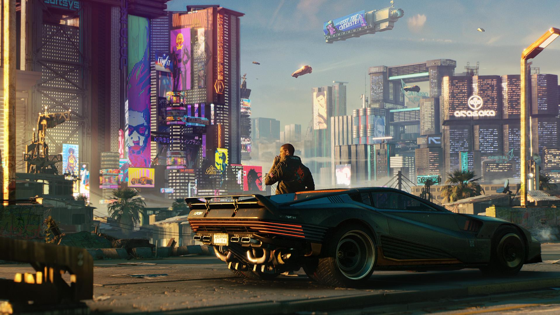 Cyberpunk 2077 Has A 43.5 GB Update & A Day One Patch